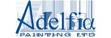 Adelfia Painting of Newton, Massachusetts Logo