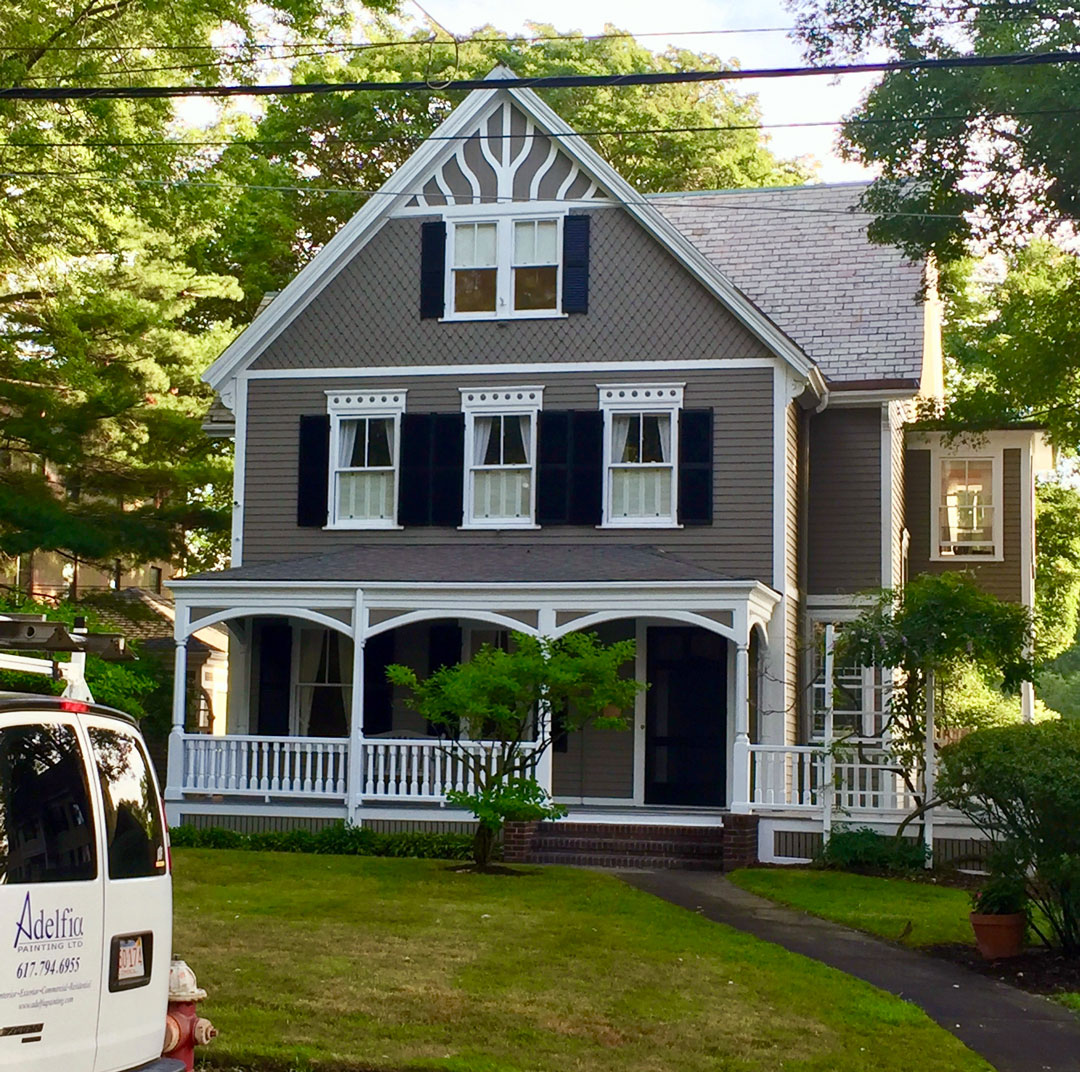 Exterior Painting Company in Wellesley